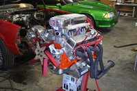 1978 Chevrolet El Camino picture, engine
