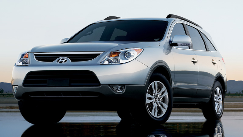 2012 Hyundai Veracruz, Front quarter, exterior, manufacturer