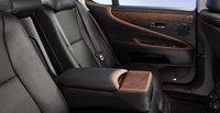 2012 Lexus LS 460, interior rear, interior, manufacturer