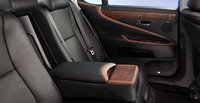 2012 Lexus LS 460, interior rear, manufacturer, interior