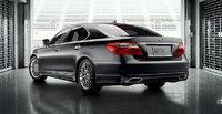 2012 Lexus LS 460, exterior rear quarter, exterior, manufacturer