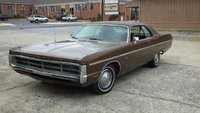 1971 Plymouth Fury, The front of the car showing the hideaway headlight's, exterior