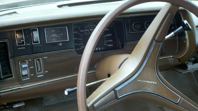 1971 plymouth fury showing the interior of car and the dase interior