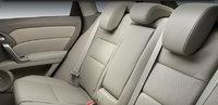 2012 Acura RDX, rear interior, interior, manufacturer