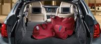2012 BMW 5 Series, interior rear cargo, interior, manufacturer