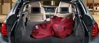 2012 BMW 5 Series, interior rear cargo, manufacturer, interior