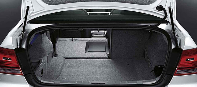 2012 BMW M3, interior rear cargo, interior, manufacturer