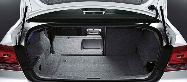2012 BMW M3, interior rear cargo, manufacturer, interior