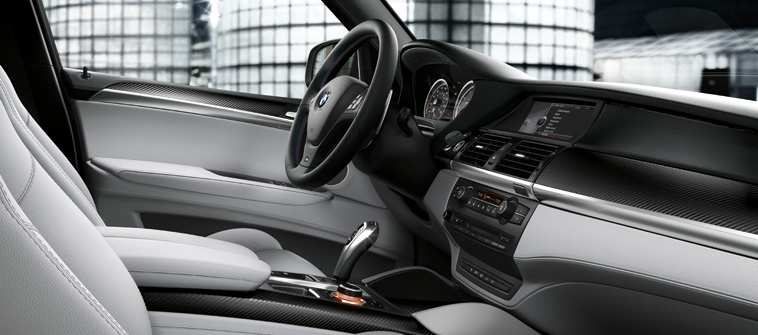 2012 BMW X5 M, front interior driver, interior, manufacturer