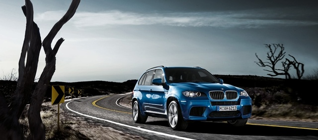 2012 BMW X5 M, exterior front quarter, exterior, manufacturer