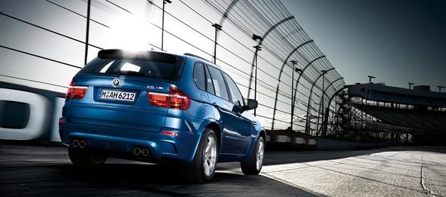 2012 BMW X5 M, exterior rear quarter, exterior, manufacturer