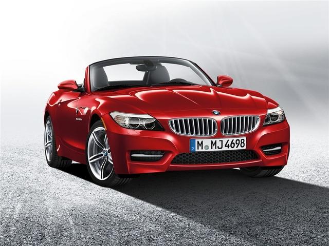 2012 BMW Z4, exterior front quarter, exterior, manufacturer