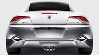 2012 Fisker Karma, exterior rear full view, exterior, manufacturer
