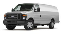 2012 Ford E-Series Van, exterior front left quarter view, manufacturer, exterior