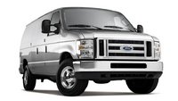 2012 Ford E-Series Cargo, exterior front right quarter view, exterior, manufacturer