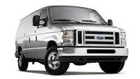 2012 Ford E-Series Cargo, exterior front right quarter view, exterior, manufacturer
