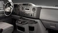 2012 Ford E-Series Cargo, interior drivers, interior, manufacturer