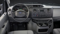 2012 Ford E-Series Cargo, interior front drivers side, interior, manufacturer