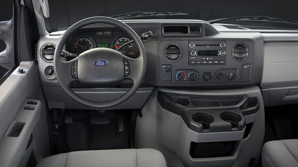 2012 Ford E-Series Cargo, interior front drivers side, manufacturer, interior