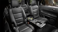 2012 Ford Explorer, interior rear view, manufacturer, interior