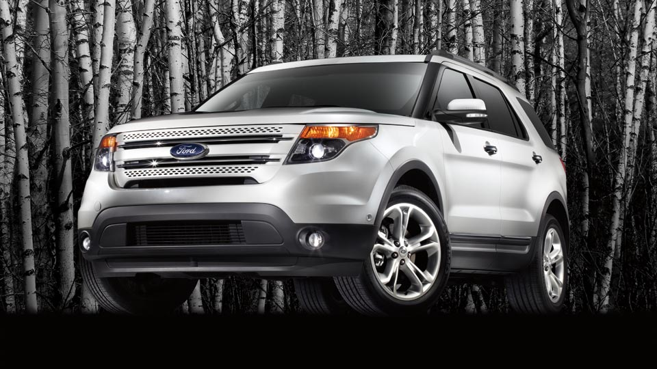 2012 Ford Explorer, exterior front left quarter view, manufacturer, exterior