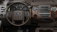 2012 Ford F-250 Super Duty, interior drivers view, interior, manufacturer