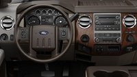 2012 Ford F-250 Super Duty, interior drivers view, manufacturer, interior