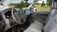 2012 Ford F-250 Super Duty, interior front view, interior, manufacturer