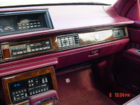 1990 Oldsmobile Ninety-Eight 4 Dr Touring Sedan picture, interior
