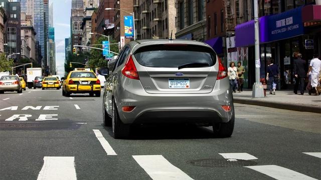 2012 Ford Fiesta, exterior rear full, exterior, manufacturer