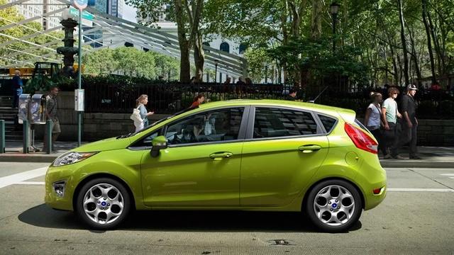 2012 Ford Fiesta, exterior side view, exterior, manufacturer