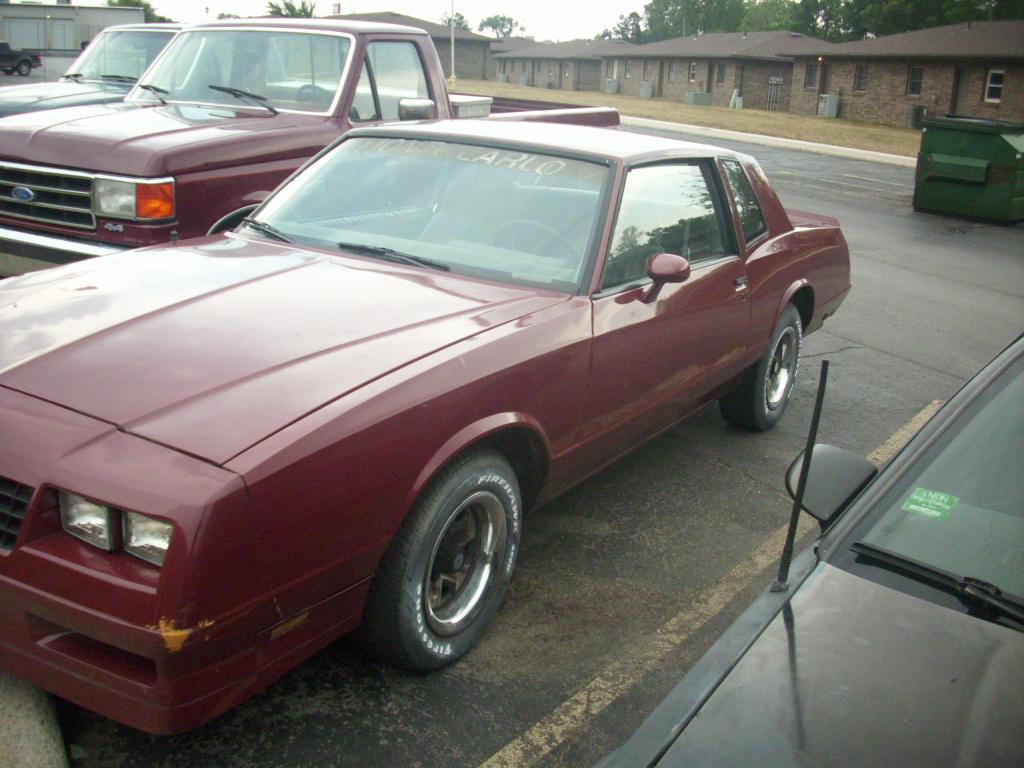 1985 Chevrolet Monte Carlo picture, exterior