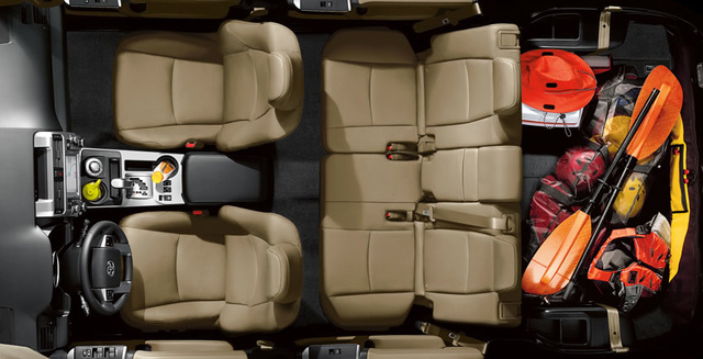 2012 Toyota 4Runner, Front and back seat. , interior, manufacturer, gallery_worthy
