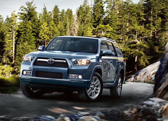 2012 Toyota 4Runner, Front View. , exterior, manufacturer