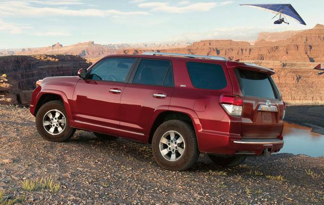 2012 Toyota 4Runner, Back quarter view. , exterior, manufacturer