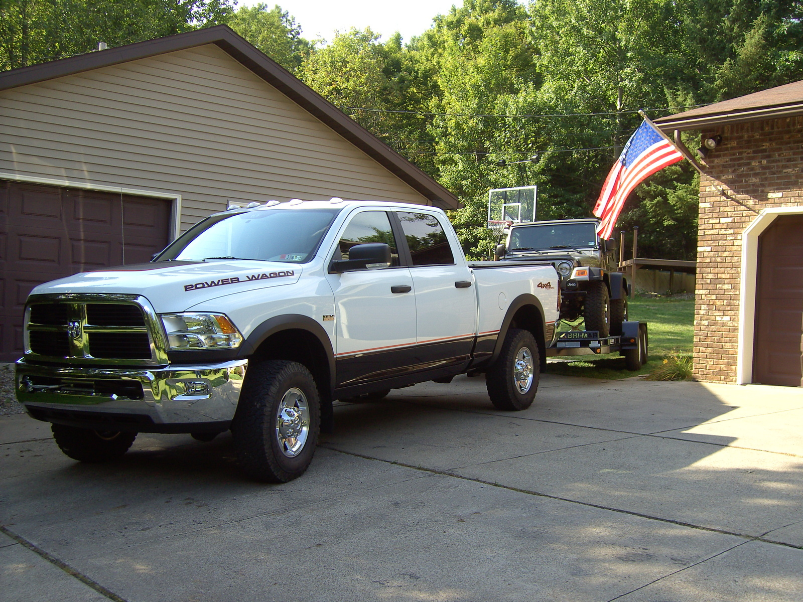 2011 Ram 2500 Power Wagon Crew Cab 6.3 ft. Bed 4WD picture, exterior