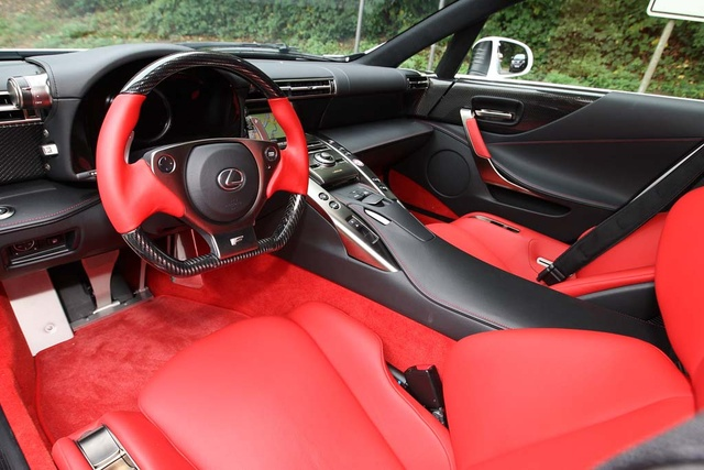Picture Of 2011 Lexus LFA, Interior, Gallery_worthy