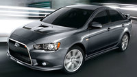 2012 Mitsubishi Lancer Ralliart, Front-quarter view, exterior, manufacturer, gallery_worthy