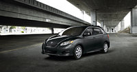 2012 Toyota Matrix, exterior left front quarter view, manufacturer, exterior