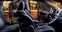 2012 Toyota Matrix, interior front and back side view, interior, manufacturer