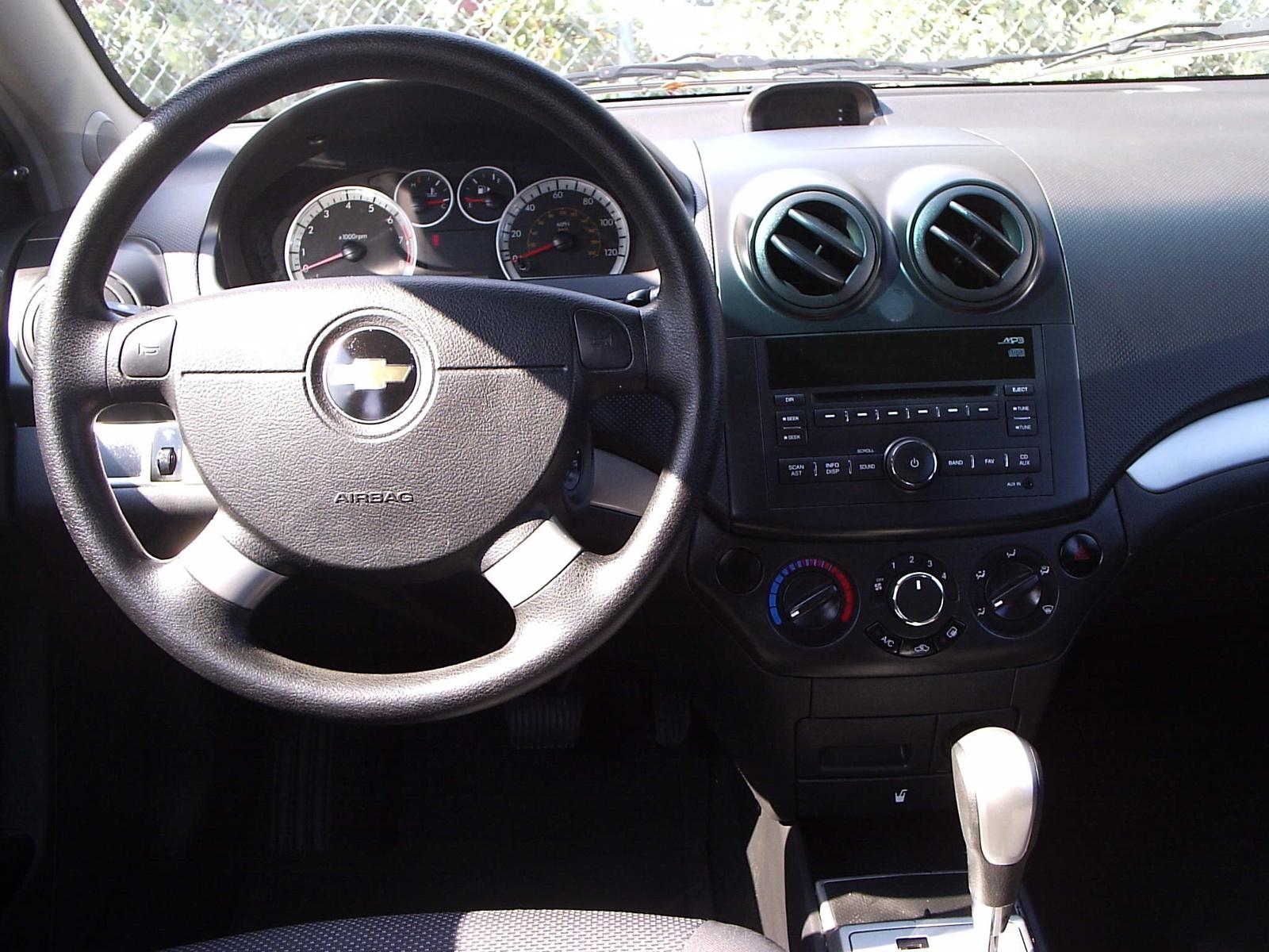 2010 Chevy Aveo Interior