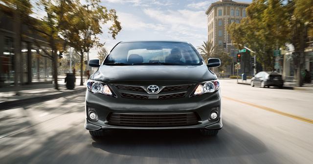 2012 Toyota Corolla, exterior full front view, exterior, manufacturer