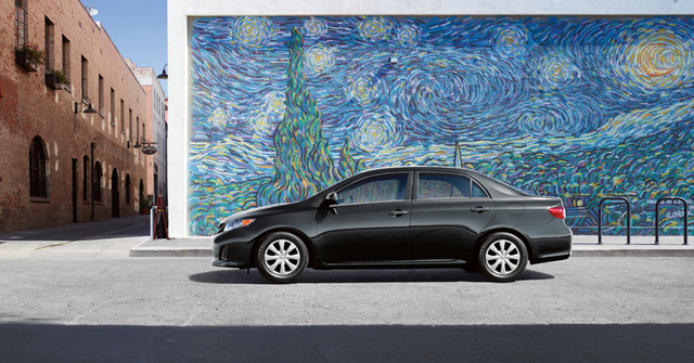 2012 Toyota Corolla, exterior full side view, exterior, manufacturer
