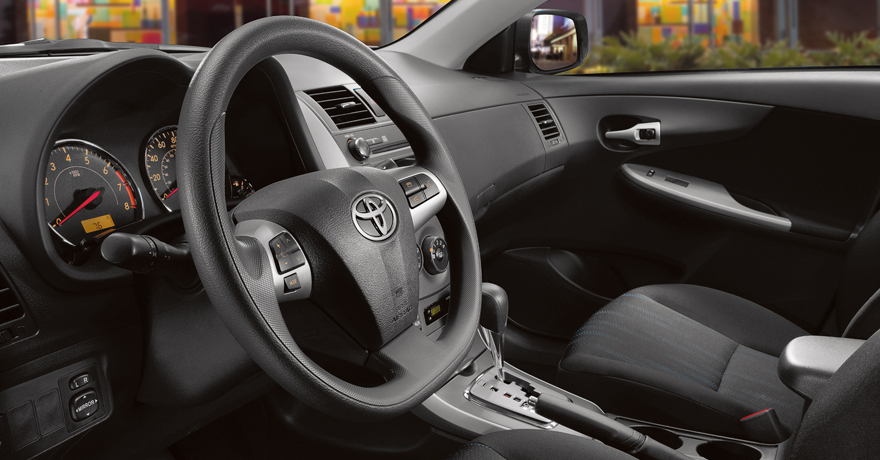 2012 Toyota Corolla, interior front drivers side, manufacturer, interior