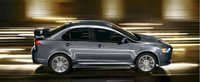 2012 Mitsubishi Lancer, exterior front side view, exterior, manufacturer