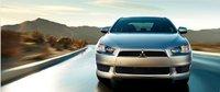 2012 Mitsubishi Lancer, exterior full front view, exterior, manufacturer