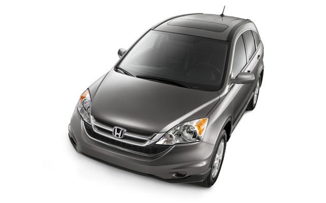 2012 Honda CR-V, exterior left front quarter view, exterior, manufacturer