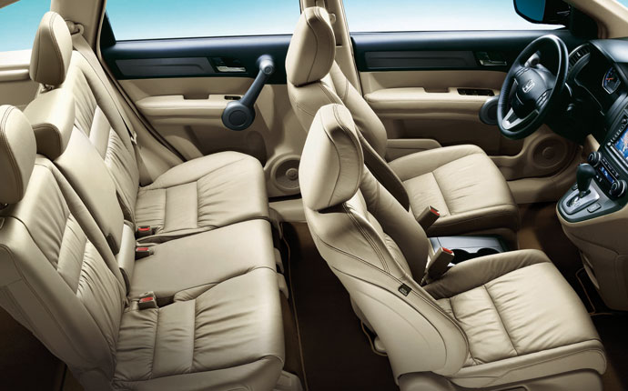 2012 Honda CR-V, interior front and rear, interior, manufacturer