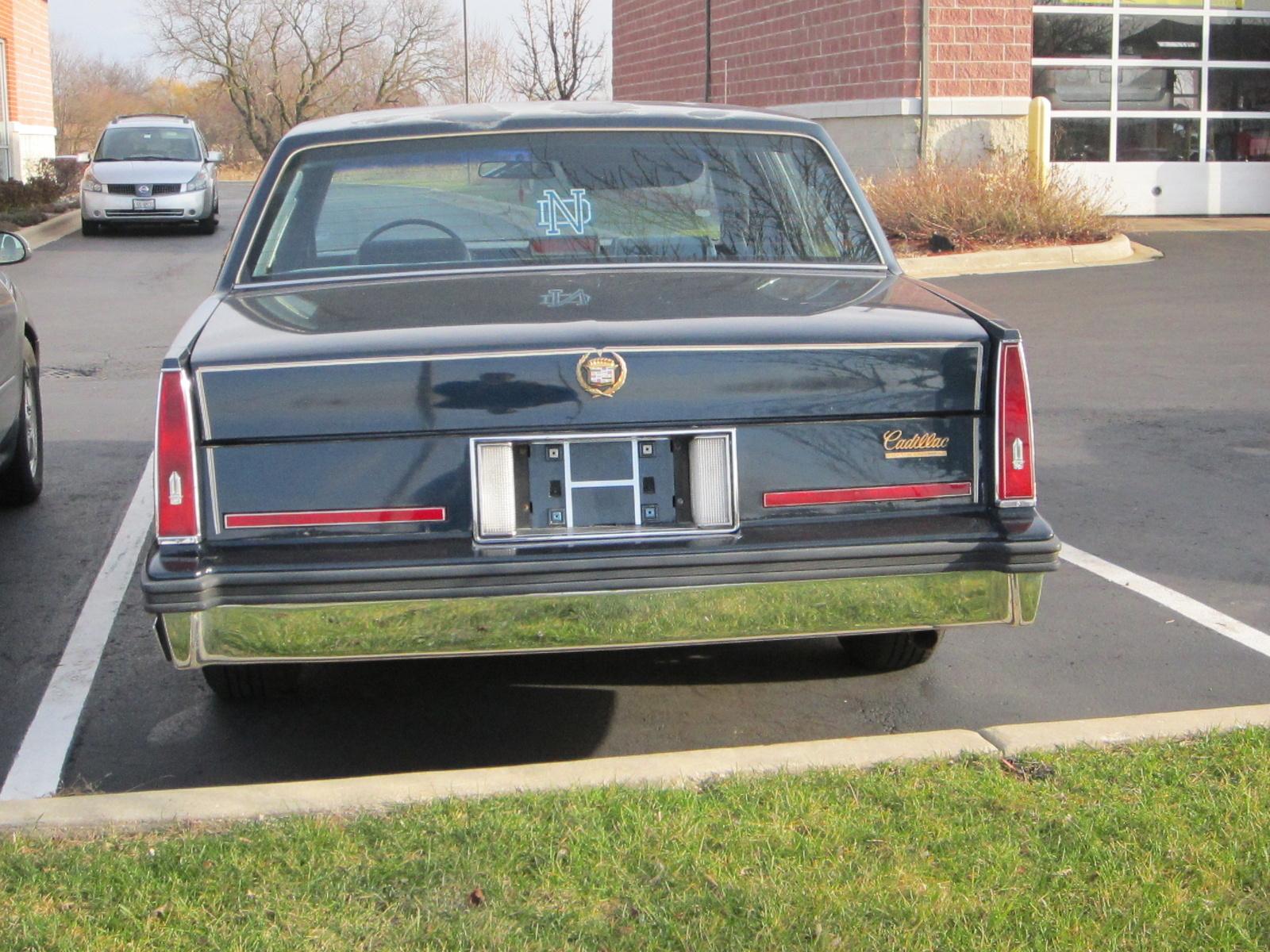 1985 Cadillac Deville Overview Cargurus 1951 Sedan