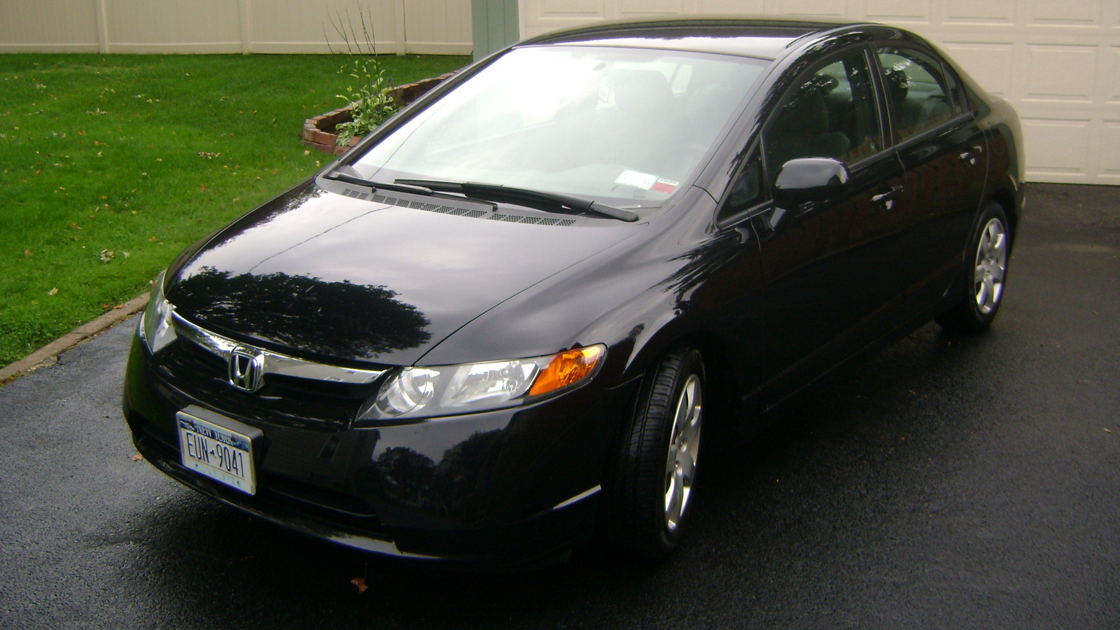 pin 2007 honda civic si 4 door sedan for sale in woodside ny on pinterest. Black Bedroom Furniture Sets. Home Design Ideas